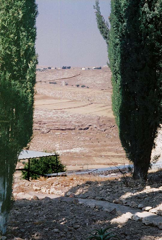 View from the Church of the Nativity is Shepherd's Field