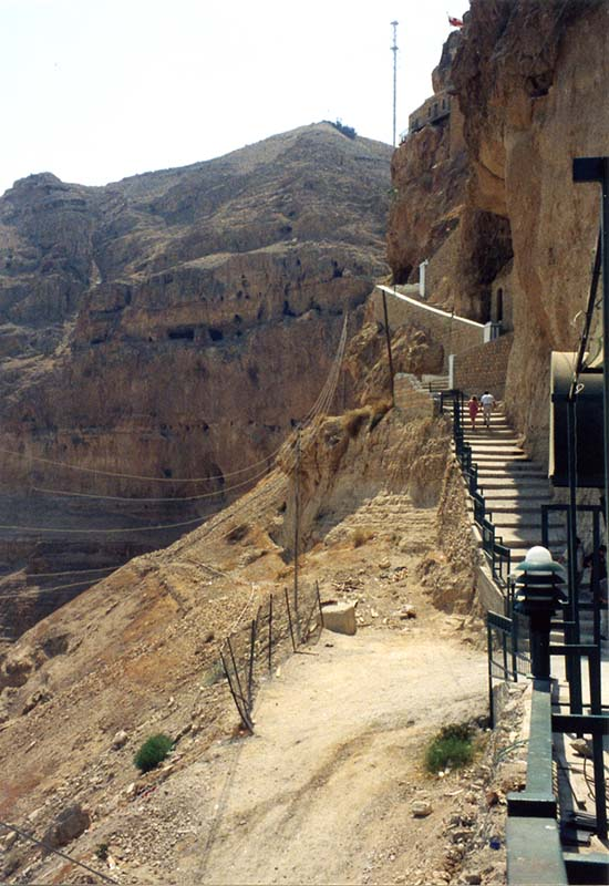 The Mount of Temptation in Jericho
