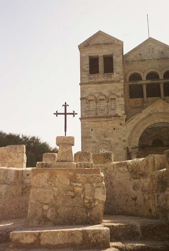 Exterior of the Church of the Transfiguration