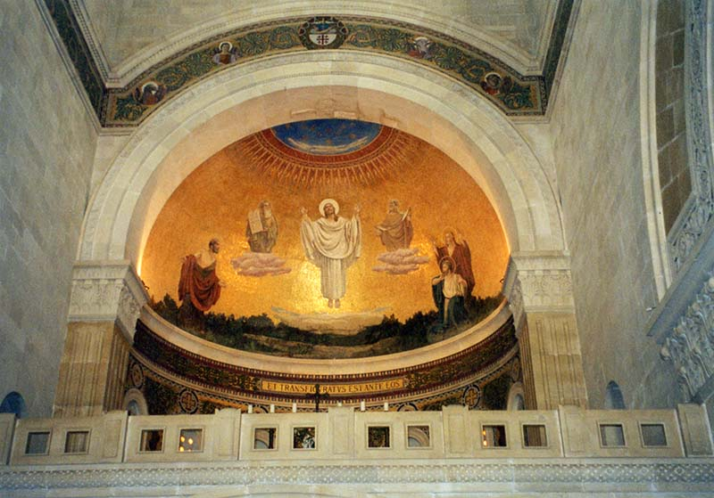 Church of the Transfiguration mosaic