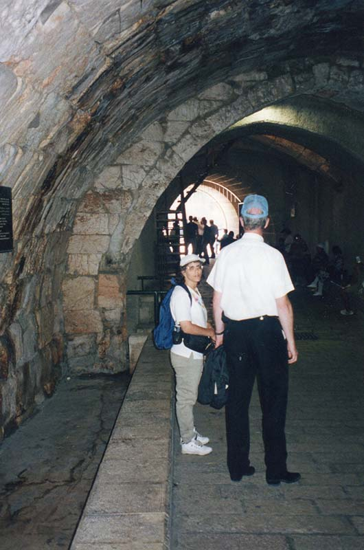 Roman Tunnel in Jewish Quarter