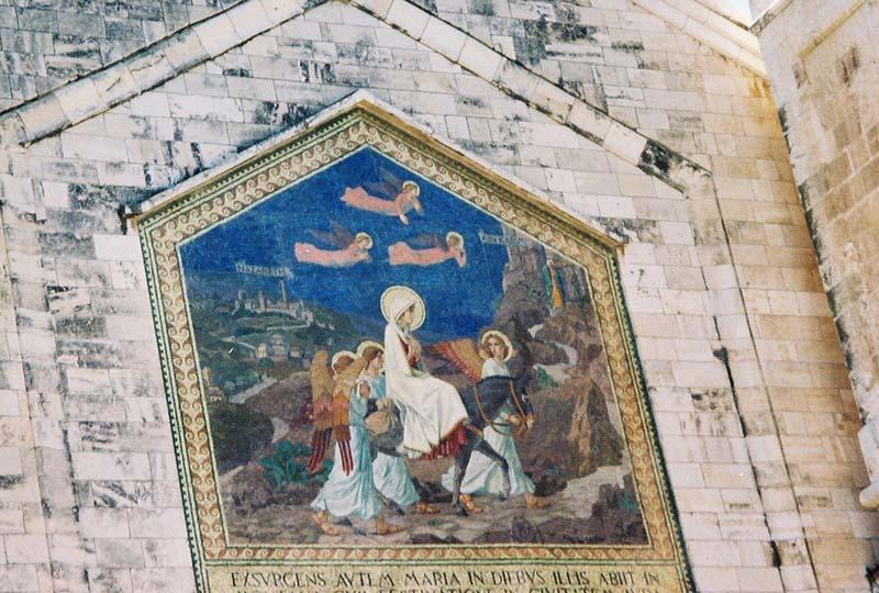 Church of the Visitation: Mosaic